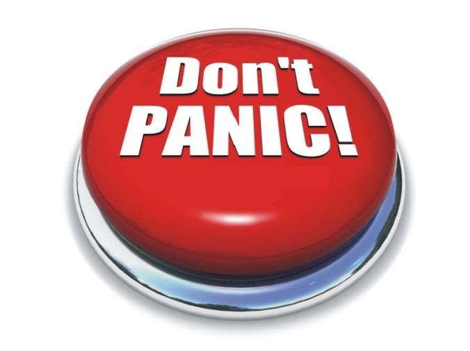Vou dizer que esse botão me deixaria mais em pânico do que se fosse só o botão sem nada escrito...